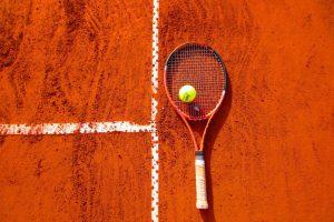 Tennisplatzeröffnung