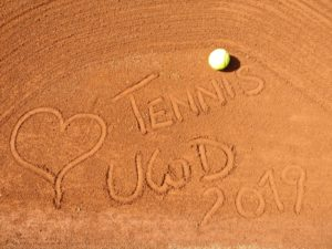 Auswintern der Tennisplätze 2019