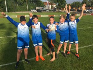 Faustball U12 gewinnt Trainingsturnier in Linz
