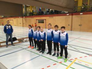 7. Platz für U12 Kids bei Krampusturnier in Vöcklabruck