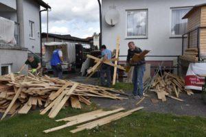 Renovierung im Schützenheim