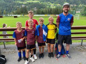 Unterwegs bei der Fußballschule Tirol